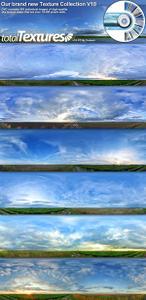 Total Textures - Seamless Sky Panoramas