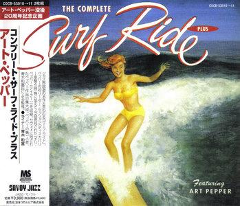 Art Pepper - The Complete Surf Ride Plus (1951-1954) {2CD Set Savoy Jazz Japan COCB-53010~11 rel 2002}