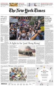 International New York Times - 25 May 2020