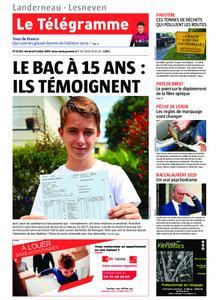 Le Télégramme Landerneau - Lesneven – 05 juillet 2019