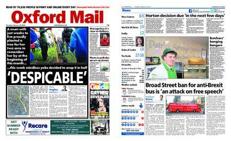 Oxford Mail – February 22, 2018