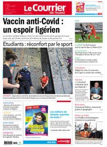 Le Courrier de l'Ouest Angers – 01 février 2021