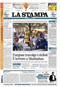 La Stampa Torino Provincia e Canavese - 1 Novembre 2017