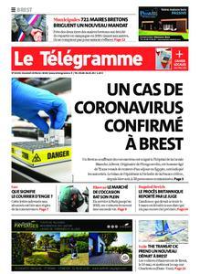 Le Télégramme Brest – 28 février 2020