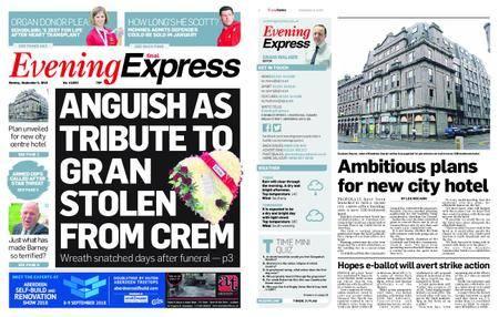 Evening Express – September 03, 2018