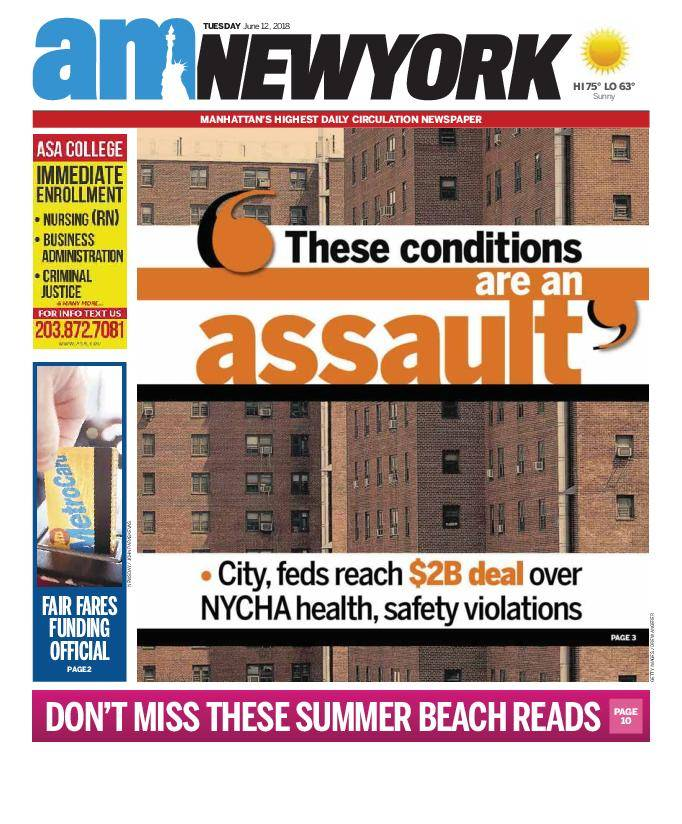 AM New York - June 12, 2018