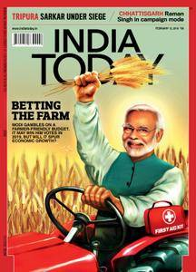 India Today - February 12, 2018