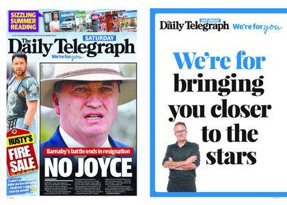 The Daily Telegraph (Sydney) – February 24, 2018