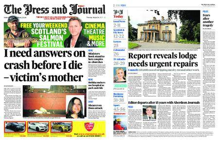 The Press and Journal Moray – August 24, 2017