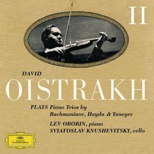 David Oistrakh, Lev Oborin & Svyatoslav Knushevitzky - David Oistrakh Plays Piano Trios Vol. 2 (2016)