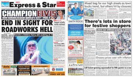 Express and Star City Edition – November 15, 2017