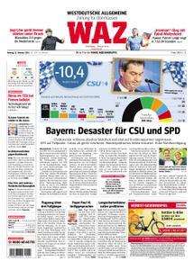 WAZ Westdeutsche Allgemeine Zeitung Oberhausen-Sterkrade - 15. Oktober 2018