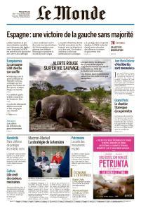 Le Monde du Mardi 30 Avril 2019