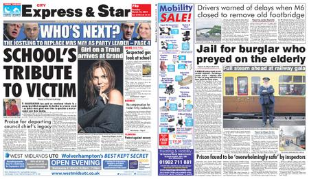 Express and Star City Edition – March 19, 2019