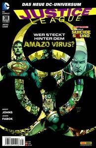 Justice League 38 Panini 2015 Drg