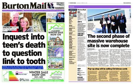 Burton Mail – October 16, 2018
