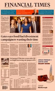 Financial Times Europe – 18 September 2019