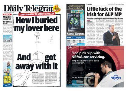 The Daily Telegraph (Sydney) – August 25, 2017