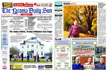 The Laconia Daily Sun – November 07, 2018
