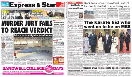 Express and Star City Edition – June 15, 2019
