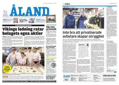 Ålandstidningen – 28 februari 2018