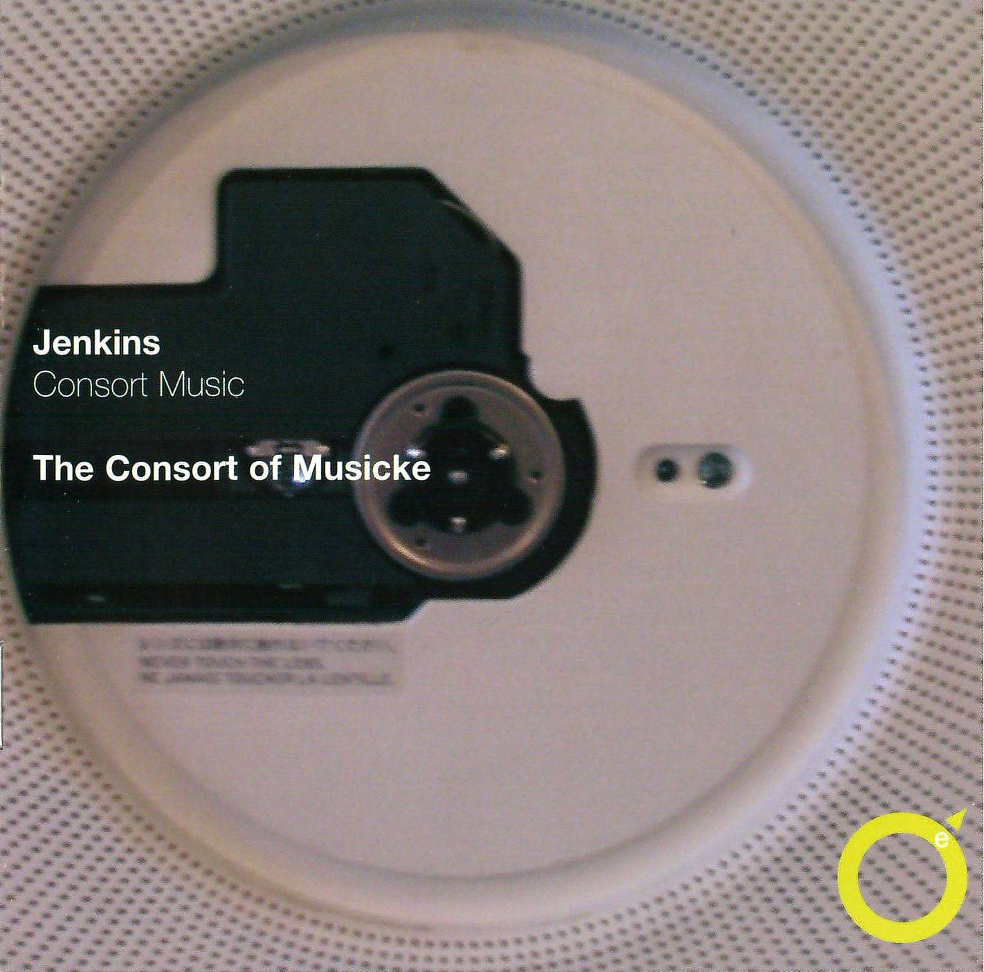 The Consort of Musicke, Trevor Jones - John Jenkins: Consort Music (1983) Reissue 2006