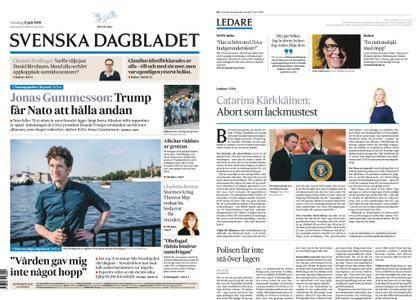 Svenska Dagbladet – 11 juli 2018