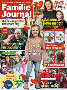 Familie Journal – 18. november 2019
