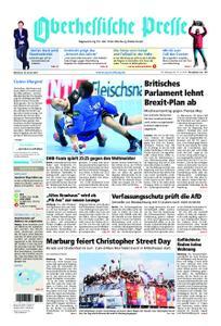 Oberhessische Presse Marburg/Ostkreis - 16. Januar 2019
