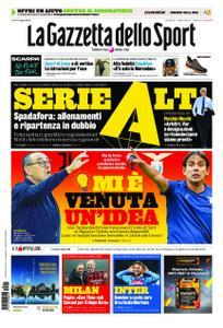 La Gazzetta dello Sport Roma – 21 aprile 2020