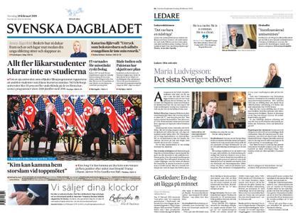 Svenska Dagbladet – 28 februari 2019