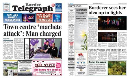 Border Telegraph – February 06, 2019