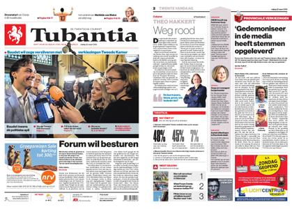 Tubantia - Enschede – 22 maart 2019