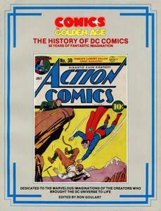 Comics The Golden Age - The History Of DC Comics 1985 NEW MEDIA A-Team-DCP