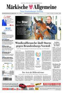 Neue Oranienburger Zeitung - 20. Oktober 2018