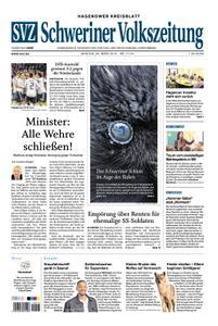 Schweriner Volkszeitung Hagenower Kreisblatt - 25. März 2019