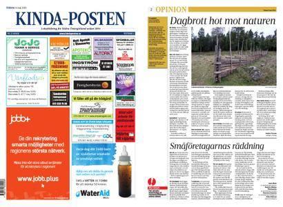 Linköpings Tidning & Kinda-Posten – 08 maj 2018