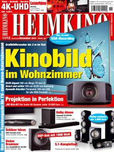 Heimkino - November-Dezember 2019