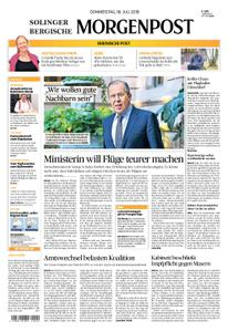 Solinger Morgenpost – 18. Juli 2019