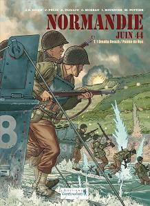 Normandie Juin 44 - Tome 1 - Omaha Beach - Pointe du Hoc