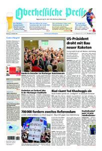 Oberhessische Presse Marburg/Ostkreis - 22. Oktober 2018