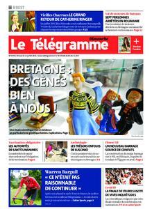 Le Télégramme Brest Abers Iroise – 11 juillet 2021