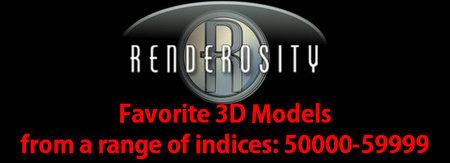 Renderosity 3D Collection. Part III. + Bonus