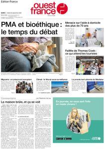 Ouest-France Édition France – 24 septembre 2019