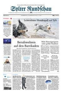 Sylter Rundschau - 25. Januar 2018
