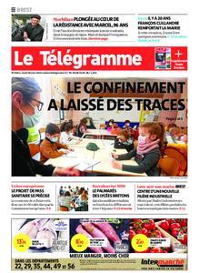 Le Télégramme Brest – 18 mars 2021