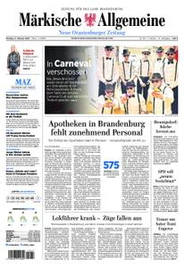 Neue Oranienburger Zeitung - 11. Februar 2019