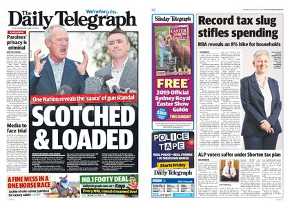 The Daily Telegraph (Sydney) – March 27, 2019