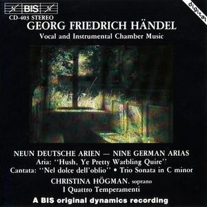 Christina Hogman, I Quattro Temperamenti - Handel: Vocal and Instrumental Chamber Music (1989)