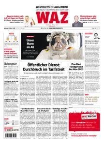 WAZ Westdeutsche Allgemeine Zeitung Oberhausen-Sterkrade - 18. April 2018